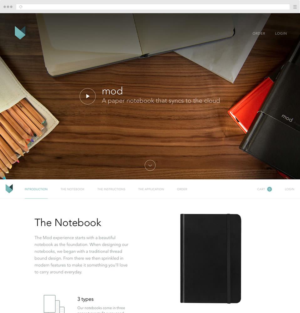 Mod Notebooks Image