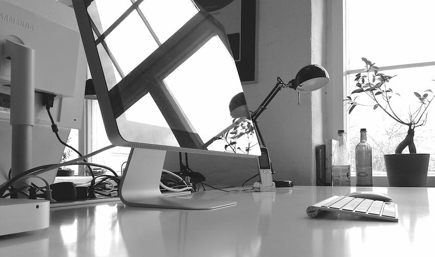 Freelance Schreibtisch